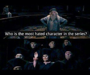 harry potter, umbridge, and dumbledore image