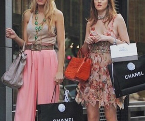 gossip girl, chanel, and serena image