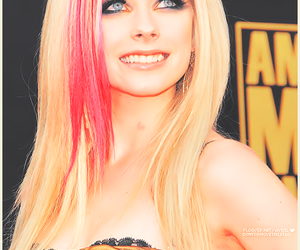 Avril Lavigne, pink, and beauty image