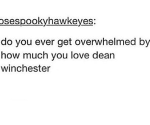 black and white, dean winchester, and fandom image