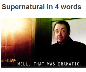 supernatural, crowley, and funny image