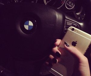 bmw, car, and iphone image