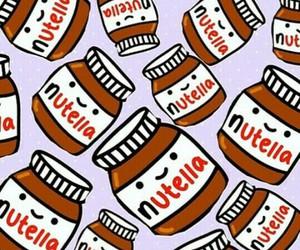 nutella and kawaii image