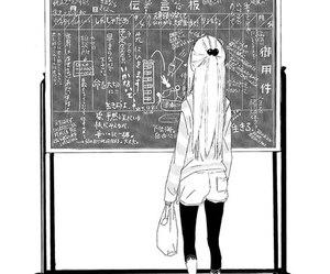 anime, monochrome, and manga image