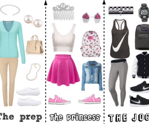 athletic, nike, and preppy image