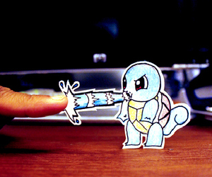 pokemon, squirtle, and drawing image