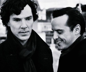 sherlock, jim moriarty, and moriarty image