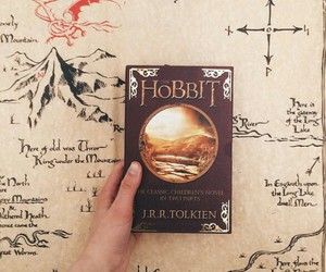 book, love, and hobbit image