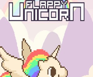unicorn, flappy, and cute image