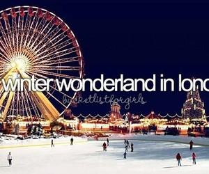 london, winter, and winter wonderland image