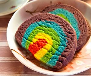 ice cream, rainbow, and tumblr image