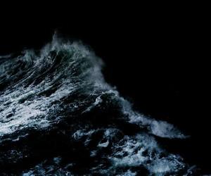 ocean, dark, and sea image