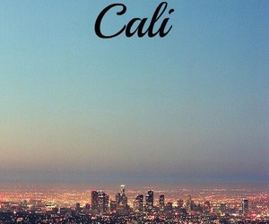 california, cali, and city image