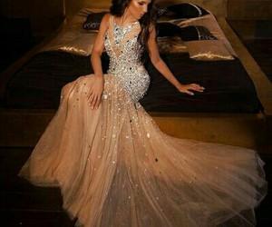 brilho, dress, and lindo image