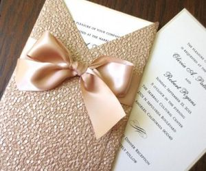 invitation, luxury, and romantic image