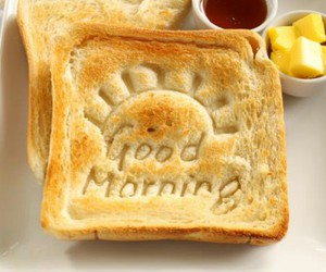 morning, good morning, and breakfast image