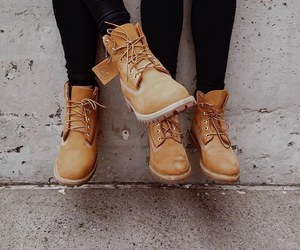 shoes, boots, and timberland image