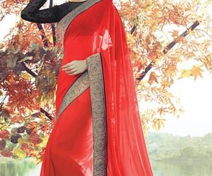 black, Hindu, and red image