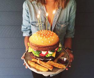 food, birthday, and cake image