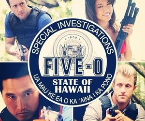 scott caan, grace park, and hawaii five o image
