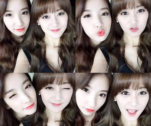 rainbow, duck face, and jisook image