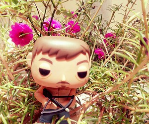 flowers, the walking dead, and toy image