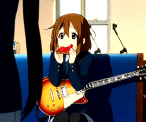 anime, k-on, and nom image