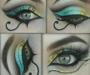 beautiful, make up, and hermoso image