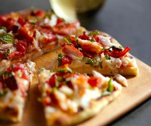 food, pizza, and luxury image