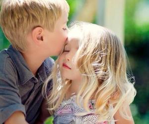 kiss, kids, and boy image