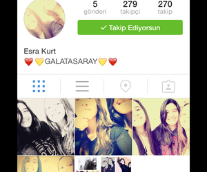 follow, girl, and instagram image