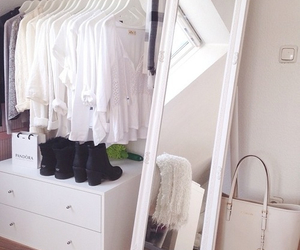 white, shoes, and room image