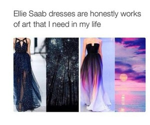dress, fashion, and ellie saab image