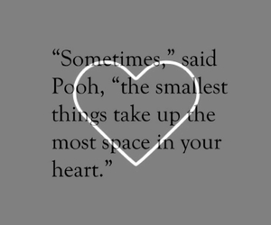 heart, disney, and pooh image