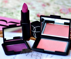 makeup, nars, and fashion image