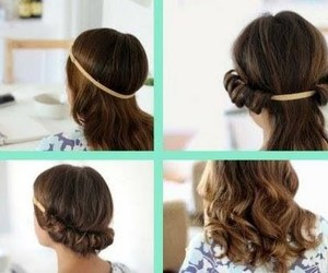 tutorial, hair, and curls image