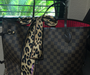 Louis Vuitton, damier ebene, and neverfull gm image