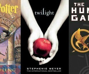 book, harry potter, and twilight image