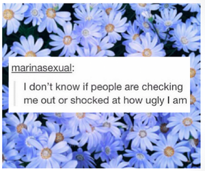 tumblr, flowers, and quote image