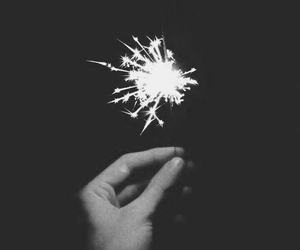 light, fireworks, and grunge image