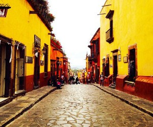 color, mexico, and street image