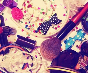accessories, lipstick, and makeup image