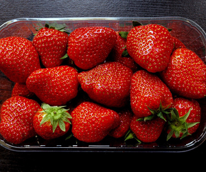 strawberry, food, and yummy image