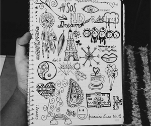 drawing, art, and 5sos image