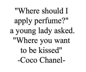 perfume, quotes, and coco chanel image