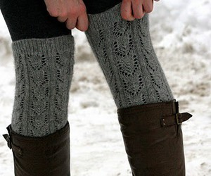 fashion, boots, and winter image