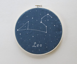 astrology, hand painted, and home decor image