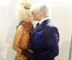 cosplay, effie, and hunger games image