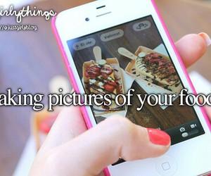 food, girl, and justgirlythings image