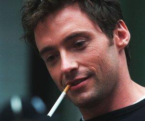 hugh jackman, cigarette, and man image